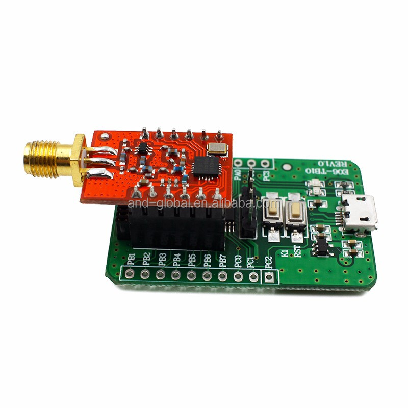 SI4463 remote digital transmission module,STM8 development kit, inculde SI4463 module and accessories