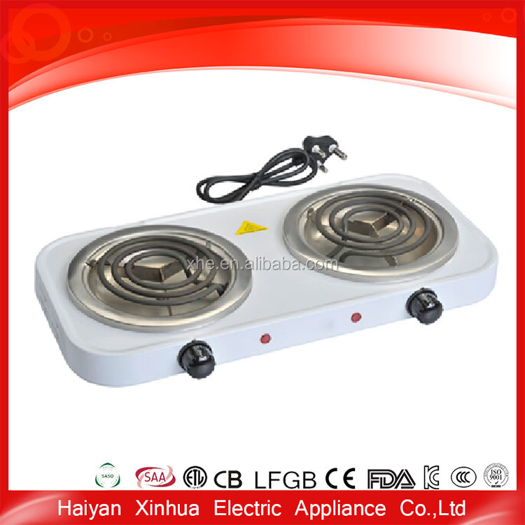 Double size cheap home cooking kitchen electric hot pot mini stove