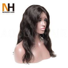 Guangzhou Import Ladies Natural Hair Wigs Natural Human Hair Wigs For Black Women