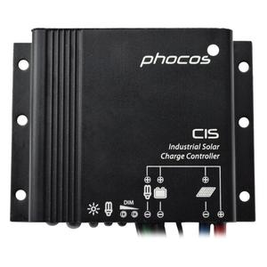 Phocos IP68 10A CIS-N-10 Solar Charge Controller 12/24VDC AutoWork Regulator Off Grid/Solar System For RVs, Boats,etc Negative G