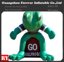 Best quality pvc frog inflatable advertising model