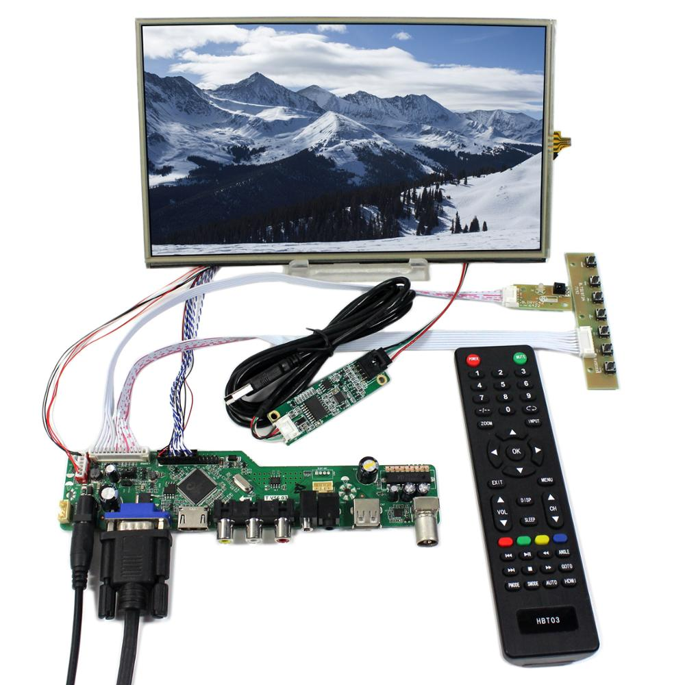 "TV/PC/HDMI/CVBS/RF/USB/AUDIO driver Board <strong>10</strong>.1"" 1366x768 LCD Panel with Touch Screen"