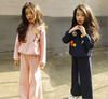 Spring/Autumn Girls Clothes Sets Kids Sport Suit For Girls Clothing Set