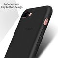 DFIFAN Hot matte black case for iphone 7 plus for iphone 8 plus soft tpu smooth touch feeling case back cover for iphone 8 plus