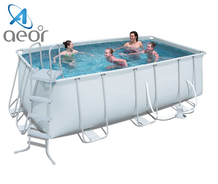 giant cheap frame swimming pool for adult / outdoor pvc swimming pool for sale / swimming pool equipment