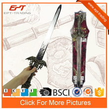 Kids plastic light up sword weapon toy with sound