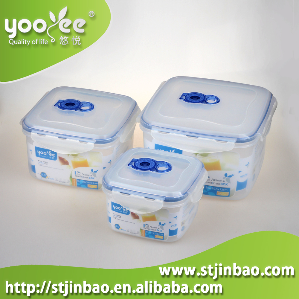 Household Item Plastic Microwavable Dishwasher Stackable Food Container Set
