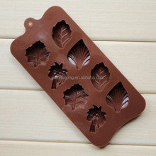 Hot Selling Product 2015 2016 Silicone Leaf Chocolate Molds UK