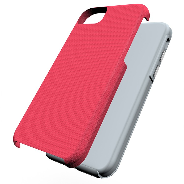 2016 New China mobile phone accessories, PC and TPU rugged 2 in 1 bumper case for iphone 7