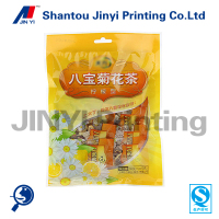 China wholesalealuminum foil vacuum packing bags, colored aluminum foil tea bag