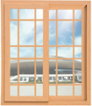 Economical double glazed shutter windows factory