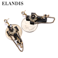 E-ELANDIS Indian style hoop earrings, dangle cross earrings ,accessories to make earrings