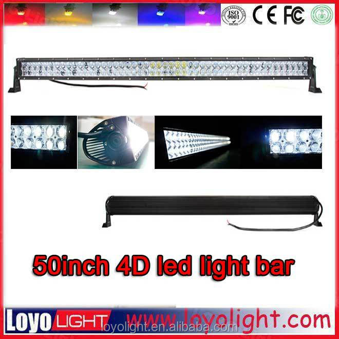 Cheap 3D 4D led light bars off road lights in china