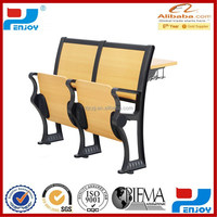 ZY-5008 cheap school chair and desk / fold chair and desk /hotsale school furniture
