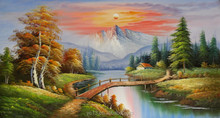 Remarkable artwork oil paintings on canvas china