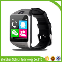 Fashion hot 3G network mobile phones bluetooth wrist watches hd touch screen gv08 smart watch