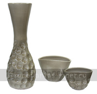 Hand made pots and vases - special finish