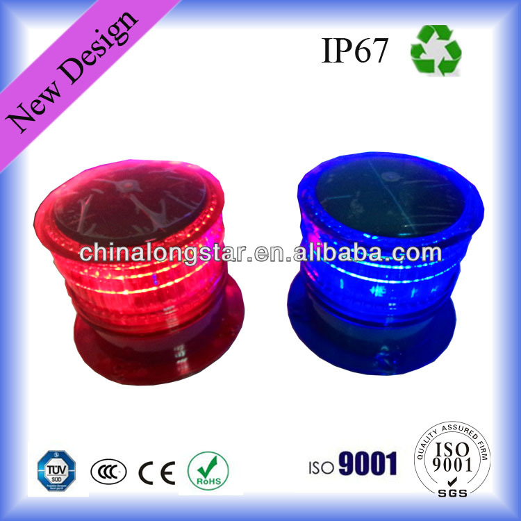 High Quality Solar Power Aviation Obstruction Light