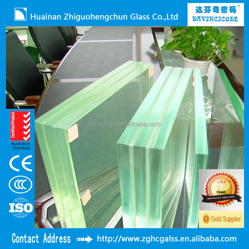 Sell Tempered Laminated Glass Price m2 with ISO CE CCC Tempered Laminated Glass
