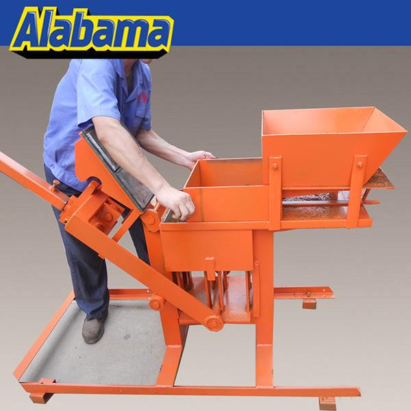 low price/cost hand press interlock hydroform clay brick machine price
