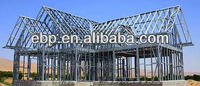 steel space frame roofing for building material factory
