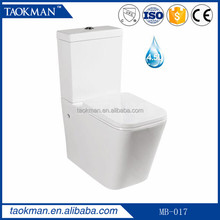 one piece slow down seat cover sanitary toilet built in bidet