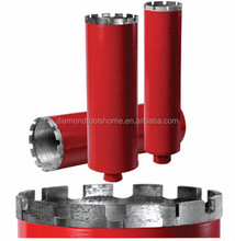 long life span High efficiency Diamond Core Drill bits for drilling concrete stones