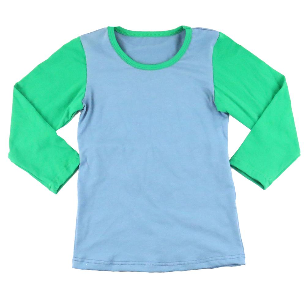 wholesale children beautiful smocked tops long 2017 sleeve unisex winter shirts