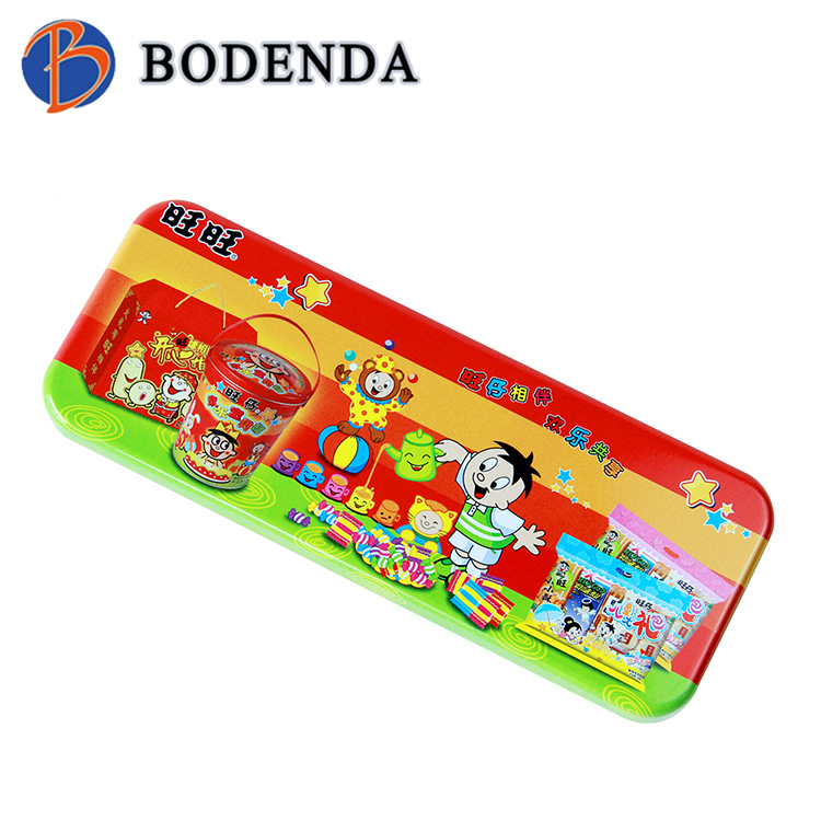 classical custom metal tin pencil case/box