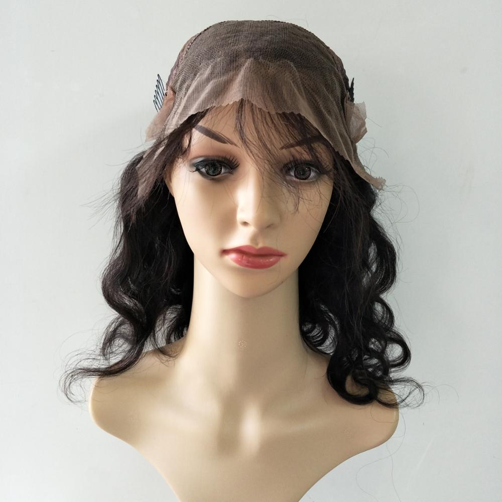 aliexpress human hair wigs lace front body wave front lace wig for charming women