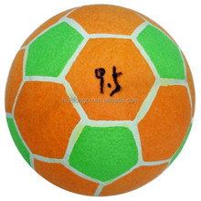 Wholesale price 9.5 Inch large inflatable tennis ball football custom logo mini soccer ball for kids toys games