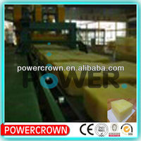 factory produce glass wool roof insulation/ perfect glass wool blanket with Aluminium foil