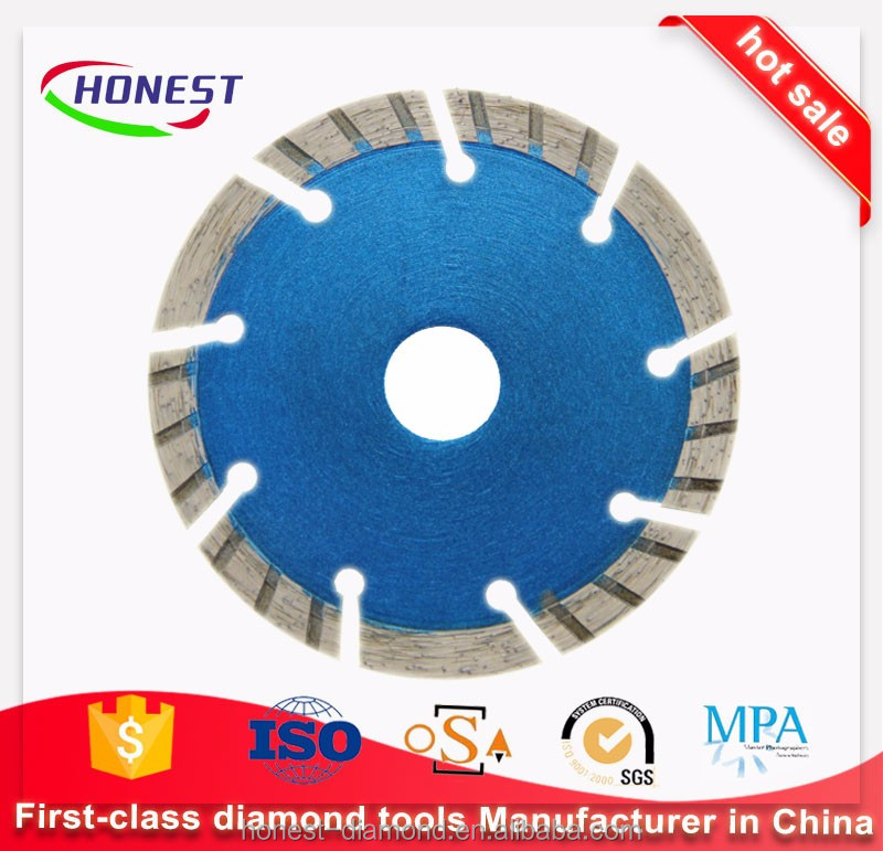 110mm Concrete dry cutting diamond saw blade for sale