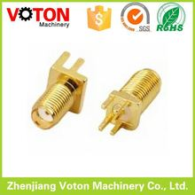 sma male/female rf connector straight/right angle,panel/pcb mount