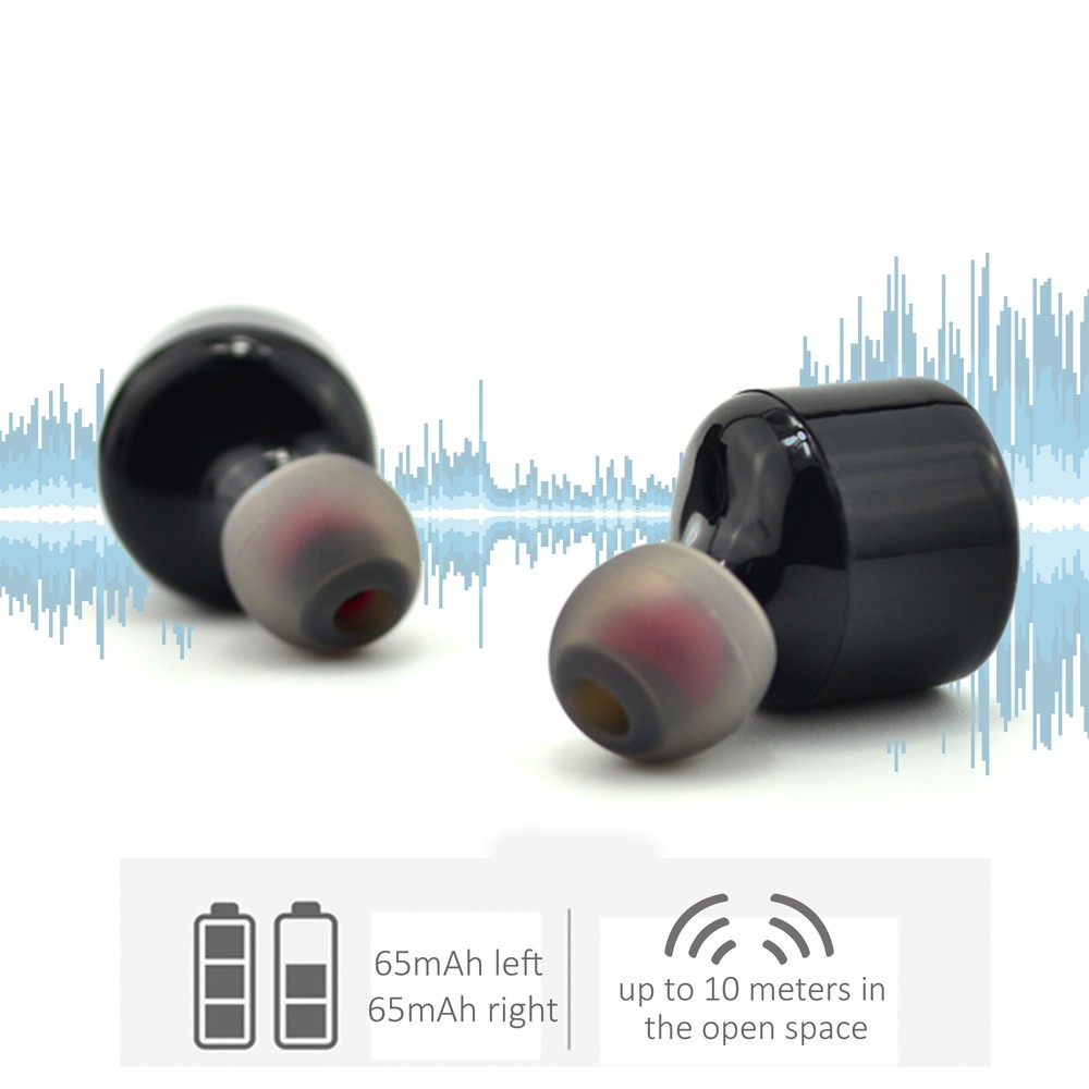 Bluetooth Noise Cancelling Wireless Earphones With Mic,Hifi ...