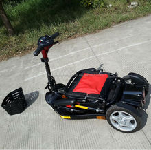 Professional and durable folding mobility disabled scooter
