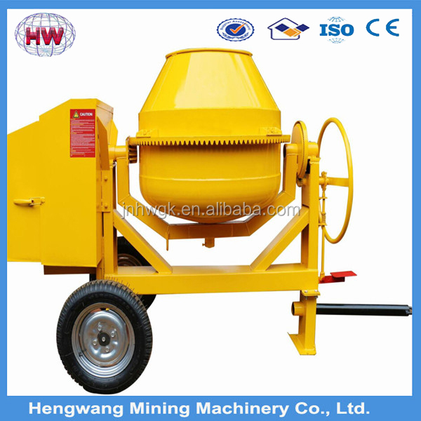 Diesel Gasoline Concrete Cement Mixer Machine Portable Concrete Mixer