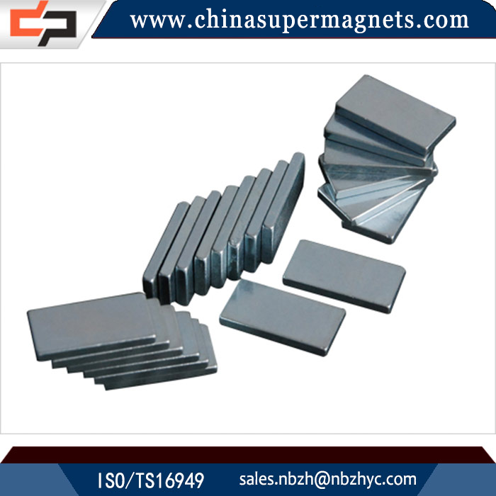 Strong permanent Customized Industrial neodymium magnets for wind turbine motor