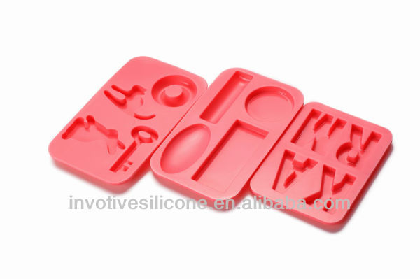 Sedex Approved Factory SCM-102 Food Grade Silicone Non-toxic FDA/LFGB Standard Different Shape Silicone Molds for Chocolate