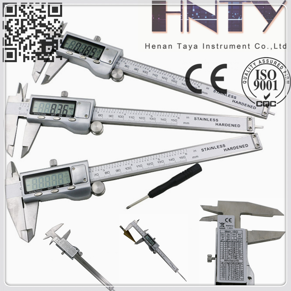 High Quality Electronic Digital Caliper Inch/Metric/Fractions Conversion
