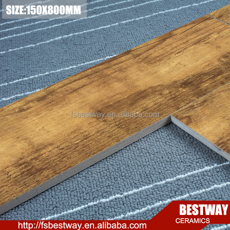 New products wood imitation floor tile wood look ceramic tile