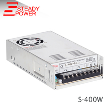 China SMPS 12 Volt 33 Amp Led Light Transformer AC 110V 220V TO 12V DC Switching Power Supply S-400W Universal Led Driver For TV