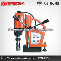 25mm Cayken Touch Electric Magnetic Drill Press, Steel Plate Coring Machine, Magnetic Base Drill KBN-25QU