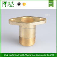 Flange Brass Ear Adapter Hose Fittings / Connector