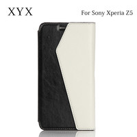 China supplier phone accessories case cover for sony xperia z5 mobile phone, flip case cover for sony xperia