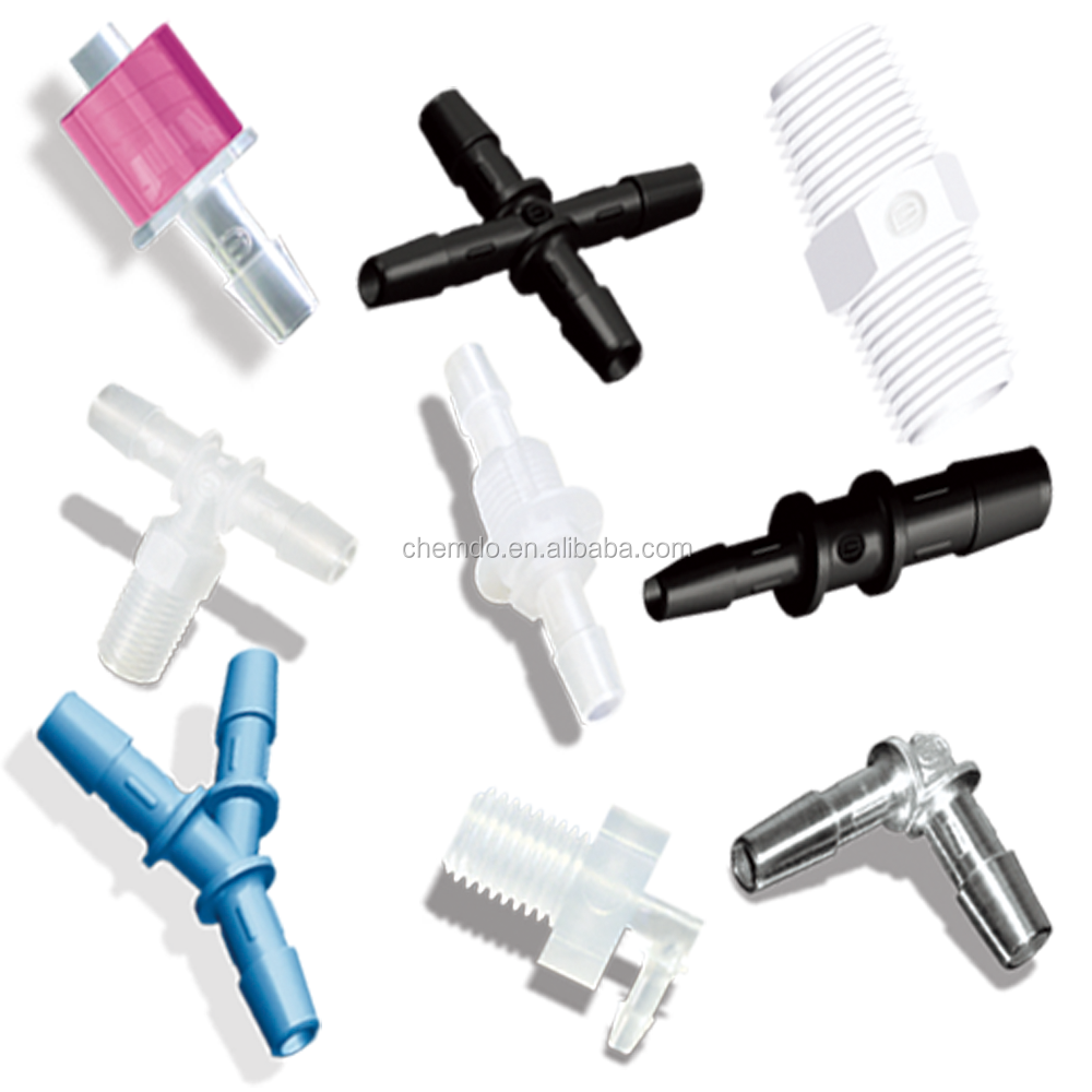 Plastic Barbed Tube Fittings