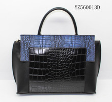new arrival high quality designer ladies crocodile leather shoulder bag