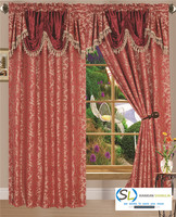 Ready made Jacquard window curtains