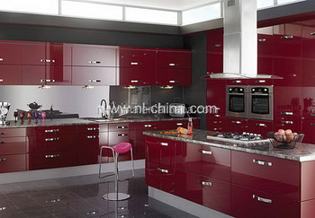 Modern house high quality project kitchen cabinet skins cheap price