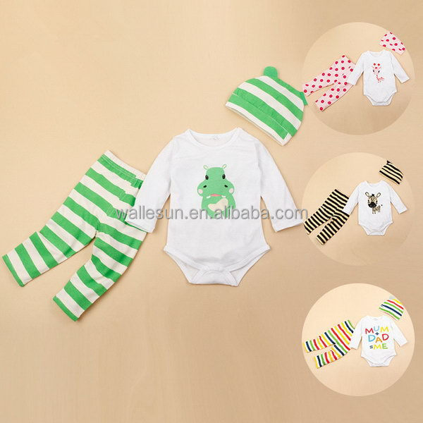 long sleeve romper set cotton pajama bamboo baby romper sleeper